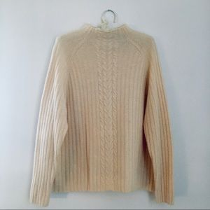 White Stag Cable knit sweater